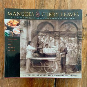 Mangos & Curry Leaves Cookbook 2005 Hardcover NWOT